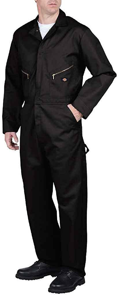d4848ef5103 Amazon.com  Dickies Men s 7 1 2 Ounce Twill Deluxe Long Sleeve Coverall   Overalls And Coveralls Workwear Apparel  Clothing