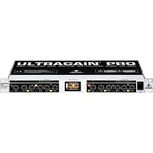 Behringer Ultragain Pro Mic2200 High-Precision Vacuum Tube Microphone/Line Preamplifier