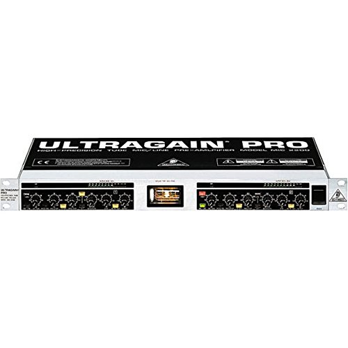 Line Stage Preamp (BEHRINGER ULTRAGAIN PRO MIC2200)