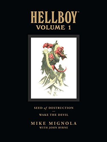 Hellboy Library Edition, Volume 1: Seed of Destruction and Wake the Devil -