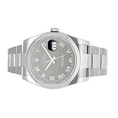 Rolex Datejust automatic-self-wind mens Watch 116200 (Certified Pre-owned)