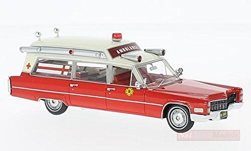 Neo Scale Models (NEO SCALE MODELS NEO43899 CADILLAC S&S AMBULANCE FIRE RESCUE 1:43 DIE CAST MODEL)
