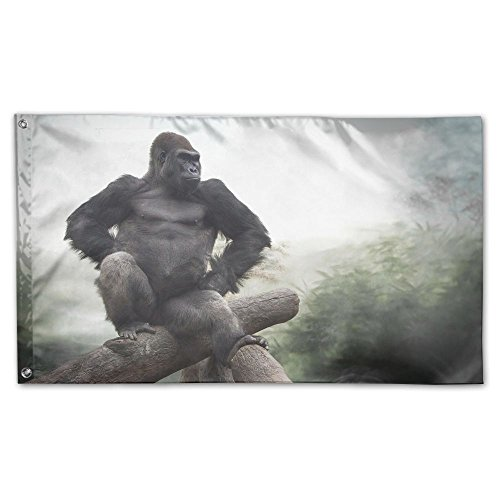 Colby Keats Funny Animal Garden Lawn Flags Indoor Outdoor Decoration Home Banner Polyester Sports Fan Flags 3 X 5 Foot]()