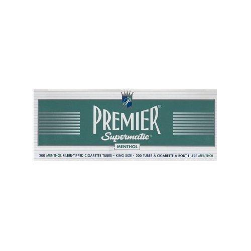 Premier Supermatic King Size Menthol Cigarette Tubes ()