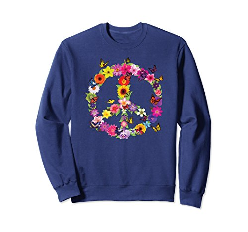Peace Sign Kids Sweatshirt - 5