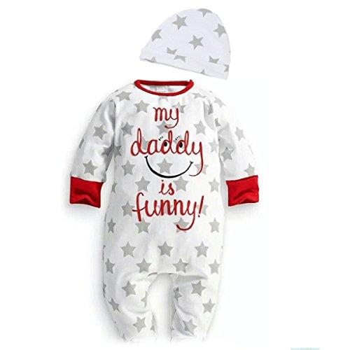 puseky Baby Jungen Mädchen (0-24 Monate) Funny Spieler 0~6 Months