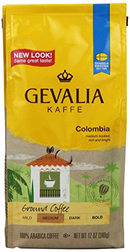 Gevalia Roast and Ground Coffee, Colombian, 12 Oz