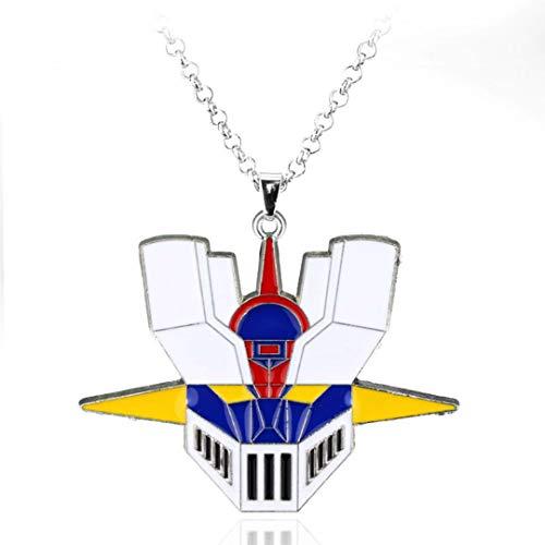 - Dan's Collectibles and More Mazinger Z Necklace Jewelry Pendant Super Giant Robot Japanese Anime Manga Cartoon 3D Bronze Head w/Gift Box (MazingerNCK)