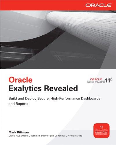 Oracle Exalytics Revealed: E-Book Pdf