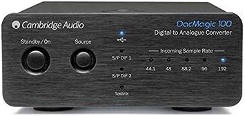 Cambridge Audio Dacmagic 100 Audio Konverter Schwarz Audio Hifi