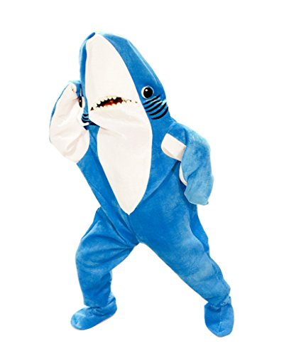 Shark Mascot Costumes - Katy Perry Left Shark Adult Plus