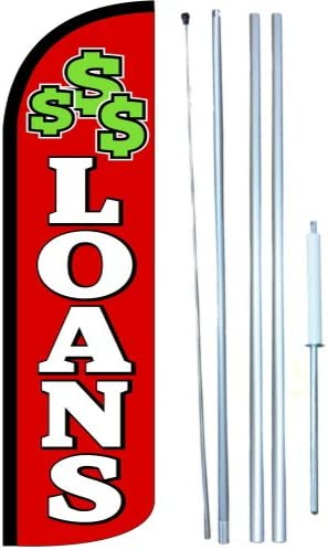 full sleeve flag Loans Swooper Windless Flag Kit