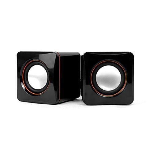 Hoxen USB Computer Speakers, Small Speakers For Laptop Desktop Netbook & PC Speakers