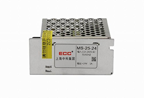 Eaglerich Dimmable LED Driver Switch Power Supply AC 110V/220V to DC 24V 25W Voltage Transformer for Led Strip Display Billboard by Eaglerich