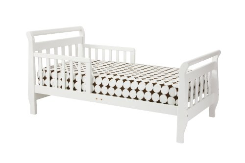Furniture Sleigh Toddler Bed - 4
