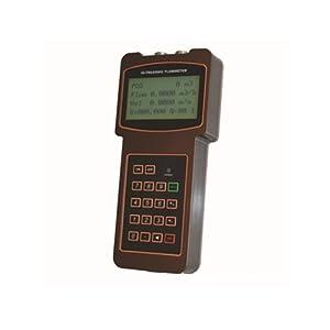 TUF-2000H-TM-1 Handheld Digital Ultrasonic Flow Meter for DN50-700mm Pipe Size, Water Temperature Range is -40-90 Degree from Taosonic