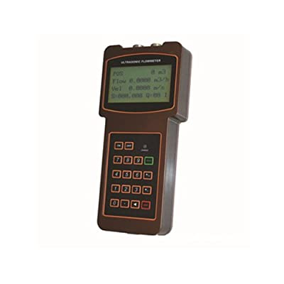 TUF-2000H-TM-1 Handheld Digital Ultrasonic Flow Meter for DN50-700mm Pipe Size, Water Temperature Range is -40-90 Degree from Taosonic