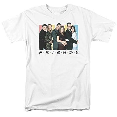 Friends Cast Logo Mens Short Sleeve Shirt