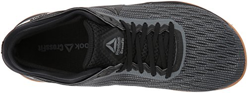 Reebok Donna Crossfit Nano 8.0 Flexweave Cross Trainer Nero / Lega / Gomma