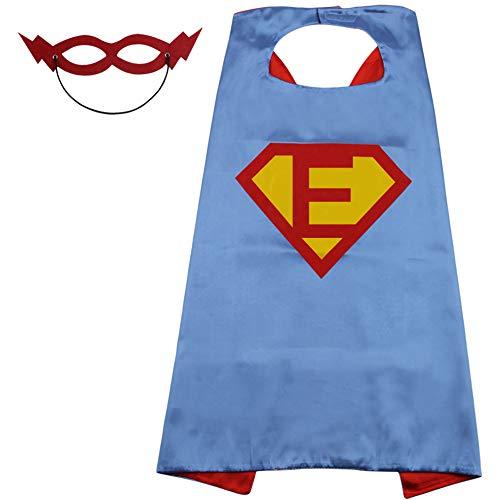 Super Man Outfit (SZD Superman Cape for Kids,Superman Outfit for Kid Boys,Todders Costume Superman)