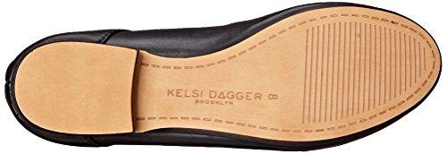 Women's Deandra Dagger Ballet Flat Brooklyn Black Kelsi wqHAW