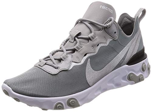 Nike React Element 55 Mens Style: BQ6166-007 Size: 10 Metallic Silver ()