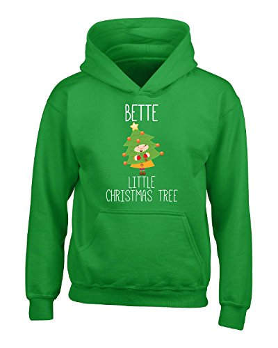 Price comparison product image Bette Little Christmas Tree - Girls Hoodie Kids L Irish-green
