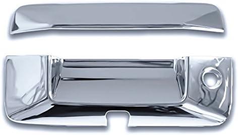 For 2016 Chevrolet Colorado Chrome Tailgate Handle Cover