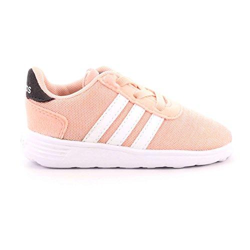 adidas Unisex Baby Lite Racer Inf Gymnastikschuhe Pink (Haze Coral S17/ftwr White/carbon S18)