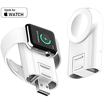 Amazon.com: Wireless iPhone Watch Charger [ MFi Certified ...