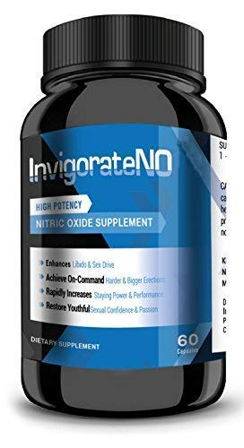 Invigorate N.O. – Powerful Nitric Oxide Booster and Muscle Builder for Strength, Blood Flow and Endurance