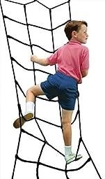 Climbing Cargo Net Black for Swing Set Play Set or Jungle Gym Playground
