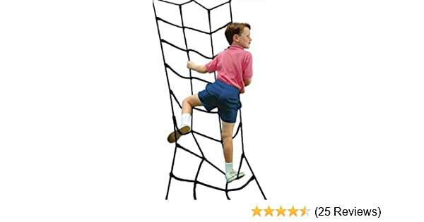 Amazon Com Climbing Cargo Net Black For Swing Set Play Set Or