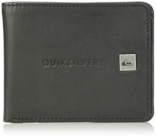 (Quiksilver Men's Mack VII Wallet, black, M)