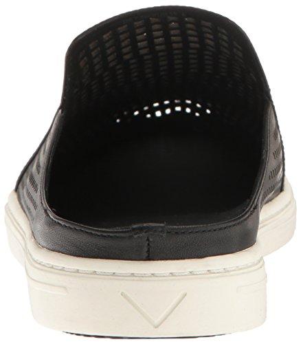 Women's Backless Black Leather Via Spiga Rina 5twaA