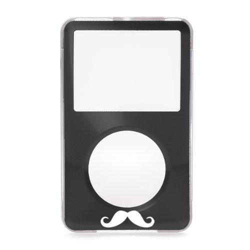 Black Apple iPod Classic Mustache Hard Case with Aluminum...