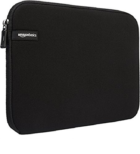 AmazonBasics 15.6-Inch Laptop Sleeve - Black