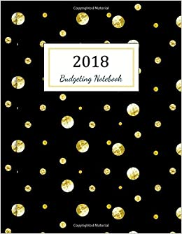 budgeting notebook budgeting planner 2018 finance monthly budget