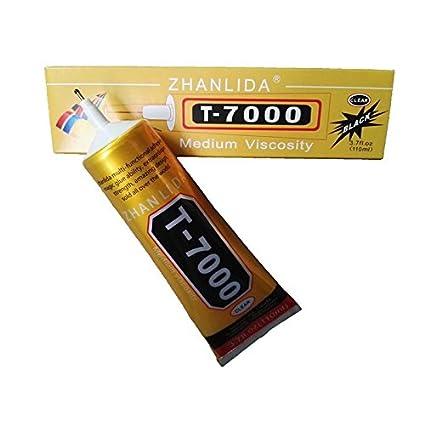 ea462200a9f 110 ml T-7000 Multiusos Negro Transparente DIY Craft Industrial Adhesivo  Herramienta de pegamento para