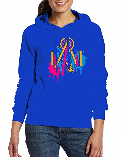 A graffiti design Womens Hoodie Fleece Custom Sweartshirts