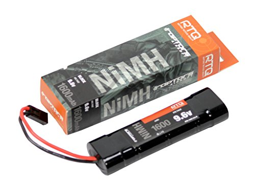 1600 Brick (9.6v 1600 mAh Brick AEG Airsoft Battery)