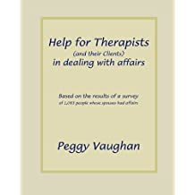 Help for Therapists (and their Clients) in dealing with affairs