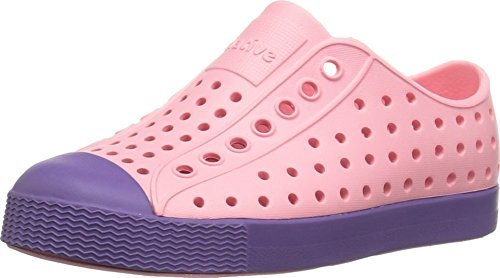 - Native Kids Shoes Baby Girl's Jefferson (Toddler/Little Kid) Princess Pink/Haze Purple Athletic Shoe