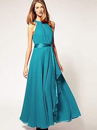 Mbox XXFS-0005 casual dress for women (free size lake blue)