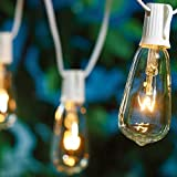 Better Homes and Gardens Glass Edison String Lights Set of 20 White Wire