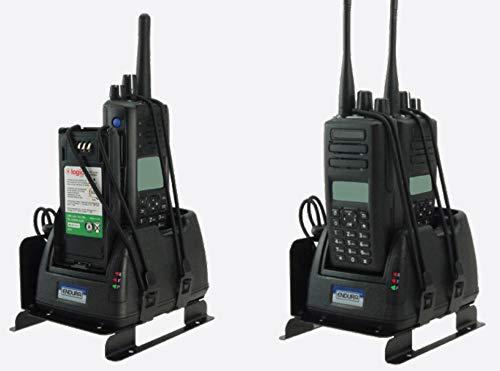 Relm Mobile - Endura Multi-Chemistry Military Grade Bendix King GEN-2, 2-Bay Mobile Radio Battery Charger, 120 VAC, Fits: RELM/BK KNG Radios, Models: KNG-P150 / KNG-P400 / KNG-P500 / KNG-P800 Portable Radios