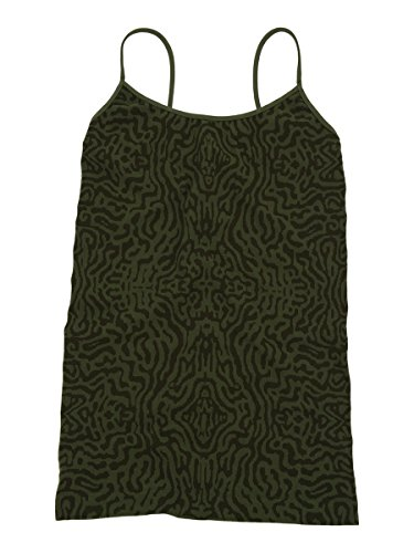Tees by Tina Womens Python Cami - Tonal Olive - One Size