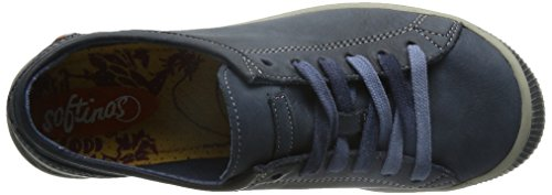 Zapatos 523 Leather Blau Azul Washed Softinos Navy Mujer ISIS qAxw8ft1
