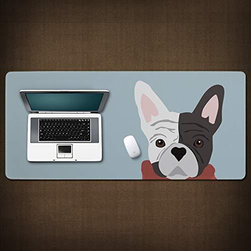 Cartoon Large Mouse pad, Waterproof Non-Slip Keyboard pad A Model 800300mm ()