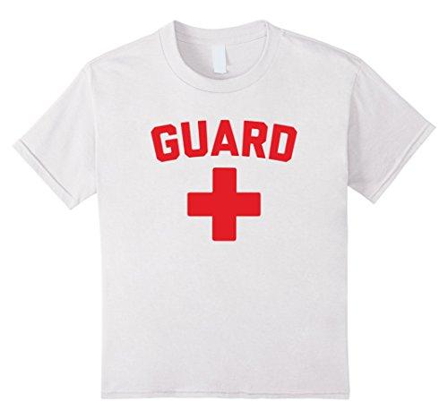 Kids Guard Lifeguard T Shirt 12 (Lifeguard Halloween Costume Kids)